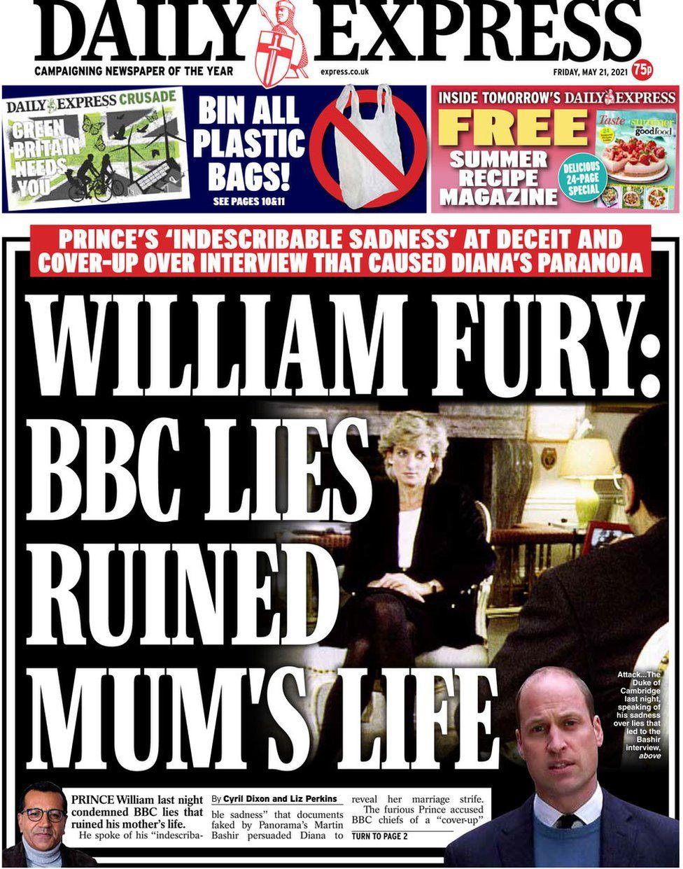 The Daily Express 21 May