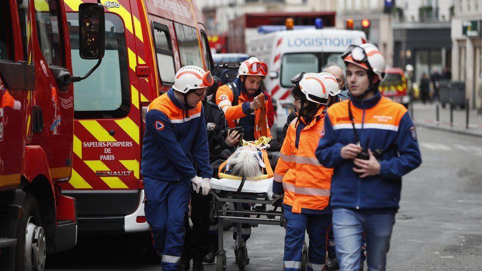 L'explosion d'une boulangerie à Paris fait quatre morts