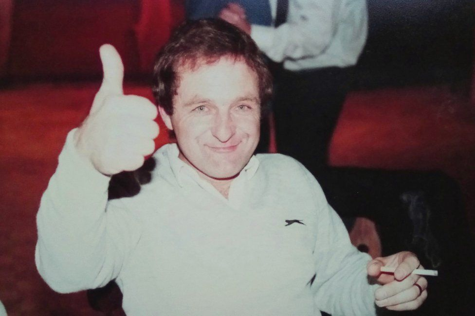 Kris Griffiths' dad as a young man