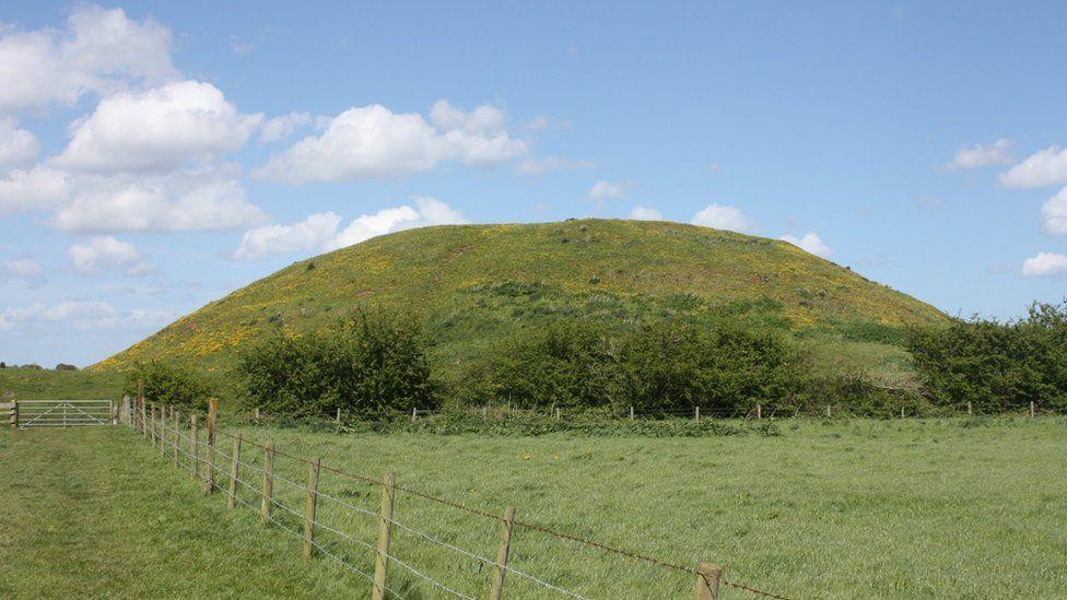 Iron Age mound at Skipsea Castle