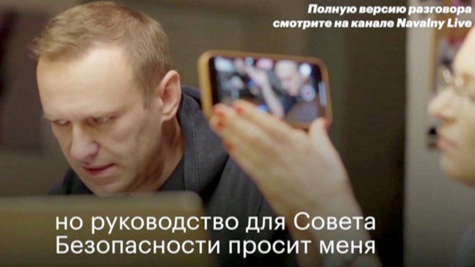 Alexei Navalny Russia S Vociferous Putin Critic Bbc News