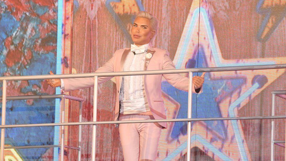 Rodrigo Alves enters the Celebrity Big Brother house on August 16th