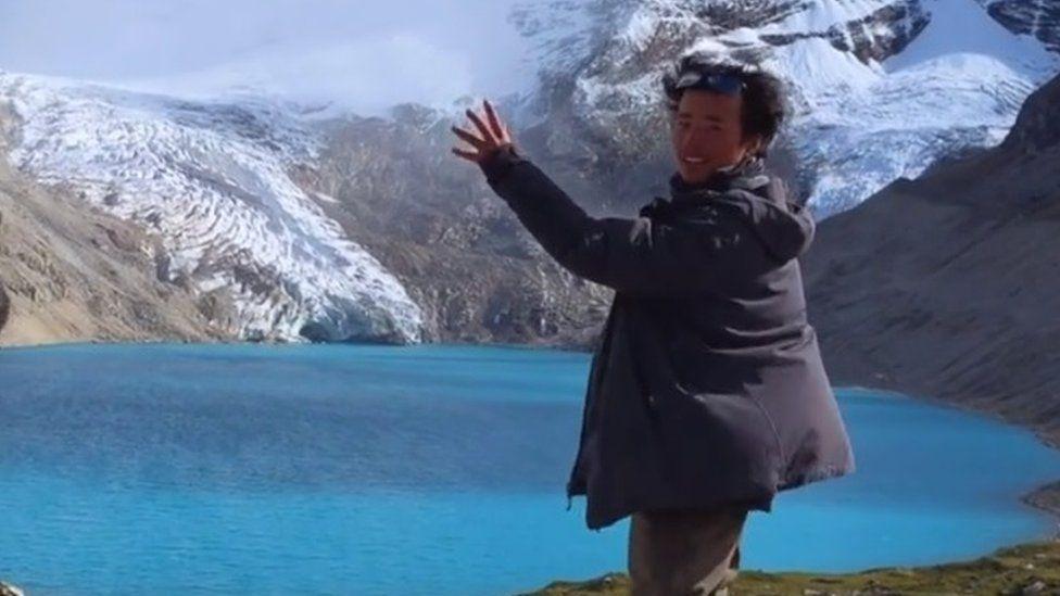 Picture of 'Glacier Bro' Wang Xiangjun