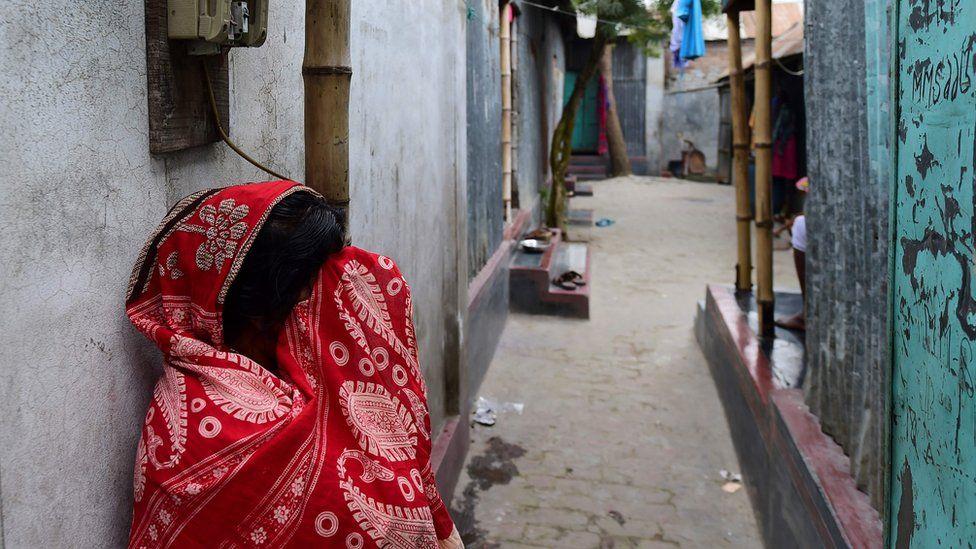 Sex worker in Daulatdia, Bangladesh