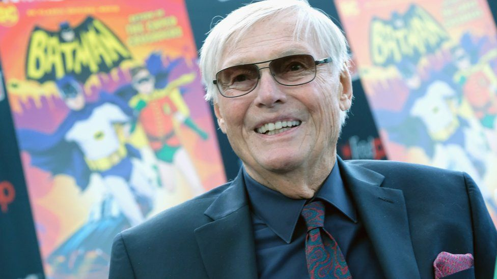 Actor Adam West attends the Batman: Return of the Caped Crusaders Press Room at New York Comic-Con on October 6, 2016