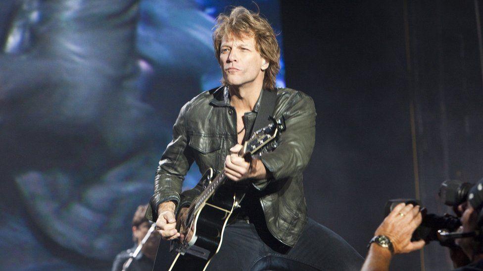 Jon Bon Jovi in 2010