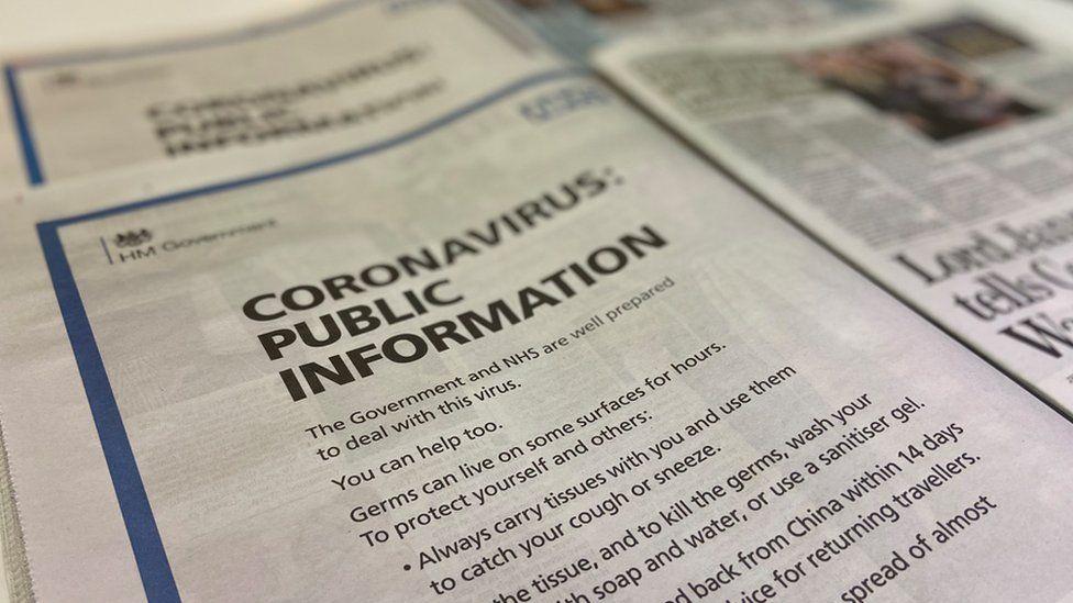 New coronavirus public health campaign