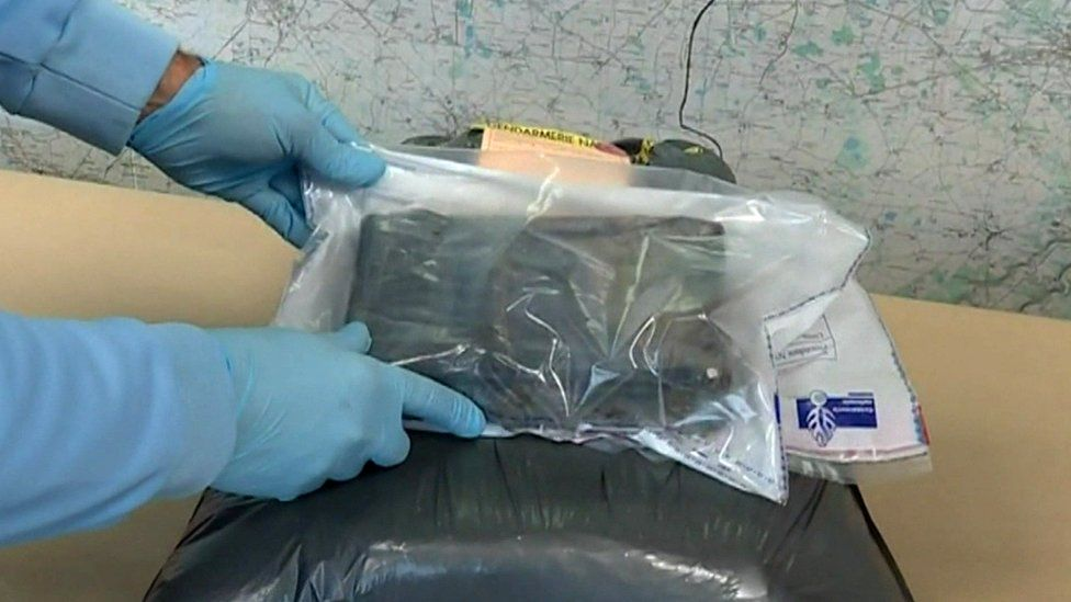 Cocaine seized in bags on French coast, 11 Nov 19