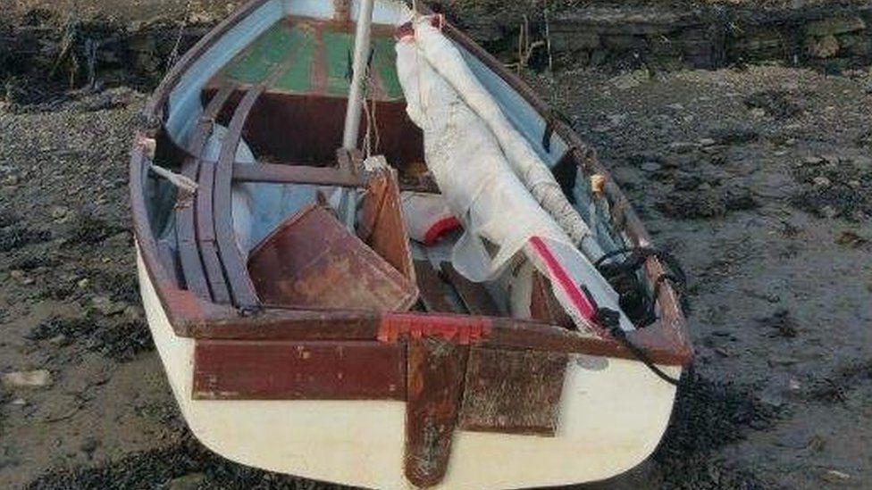 Arthur Taylor's boat