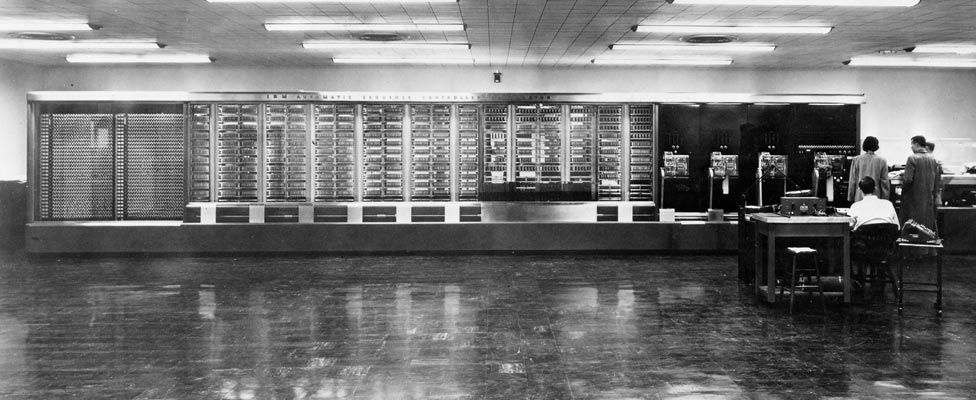 Harvard Mark 1 computer in 1944