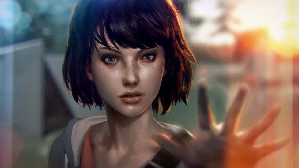 Life is Strange's main character holds her hand out towards the camera