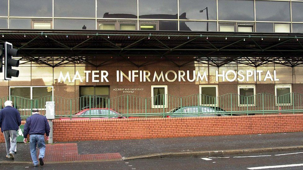 Mater Hospital in north Belfast