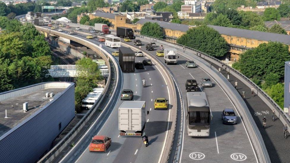 Plans for the Westway