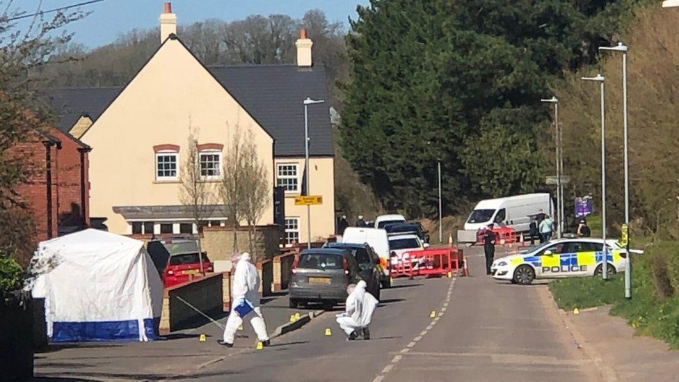 Police investigation in Wookey Hole Road, Wells