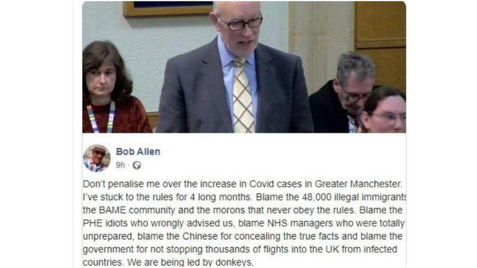 Bob Allen Facebook page