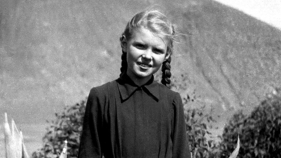 Vaira aged 11 in Daourat, Morocco