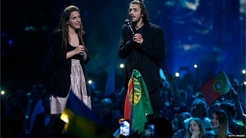 Luisa and Salvador Sobral