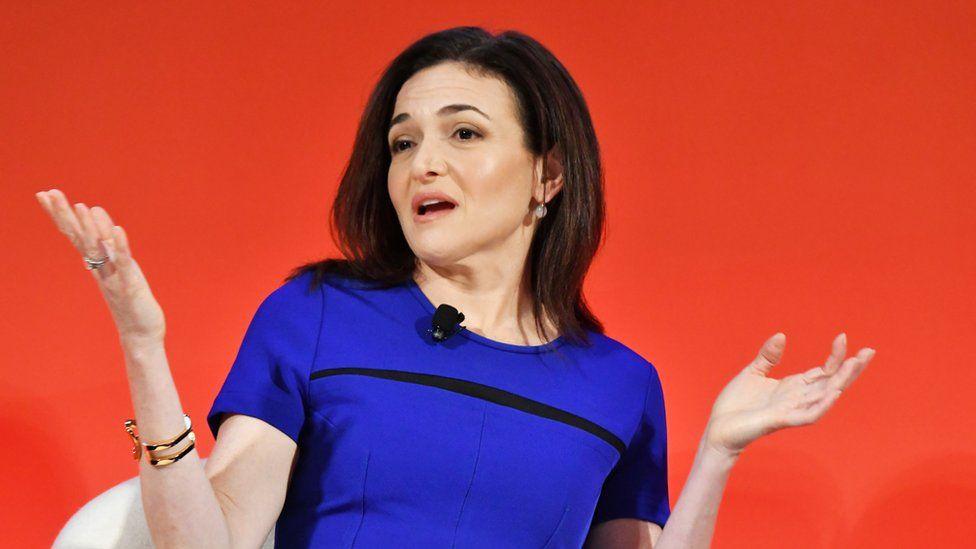 Sheryl Sandberg, the chief operating officer of Facebook.