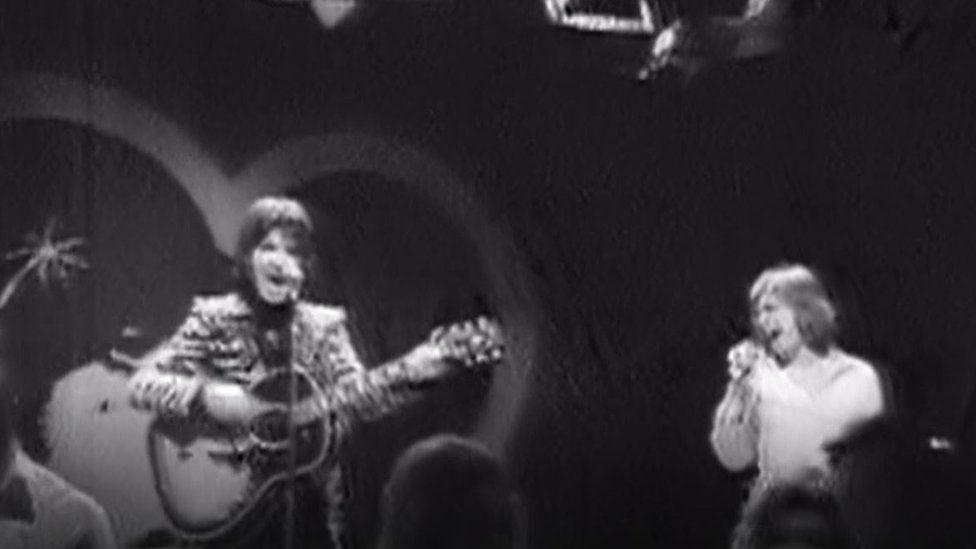 The mystery Welsh music fan also captured The Hollies with his early recording equipment