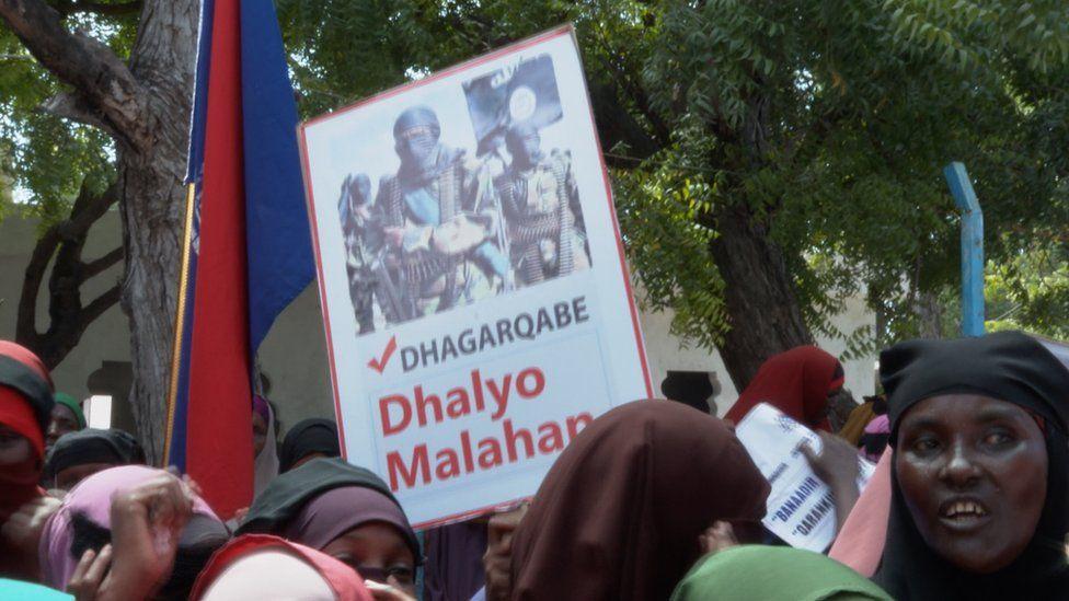 The demonstrators in Mogadishu - 02 January 2020