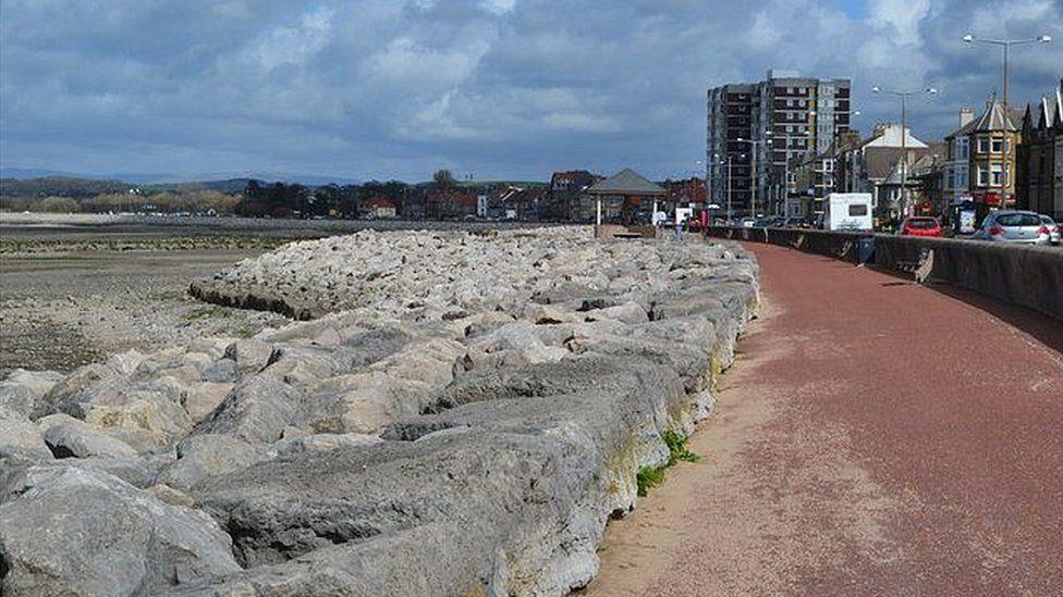 Morecambe promenade