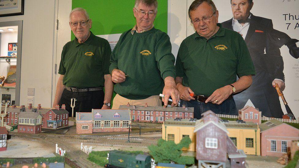 model railway & club members