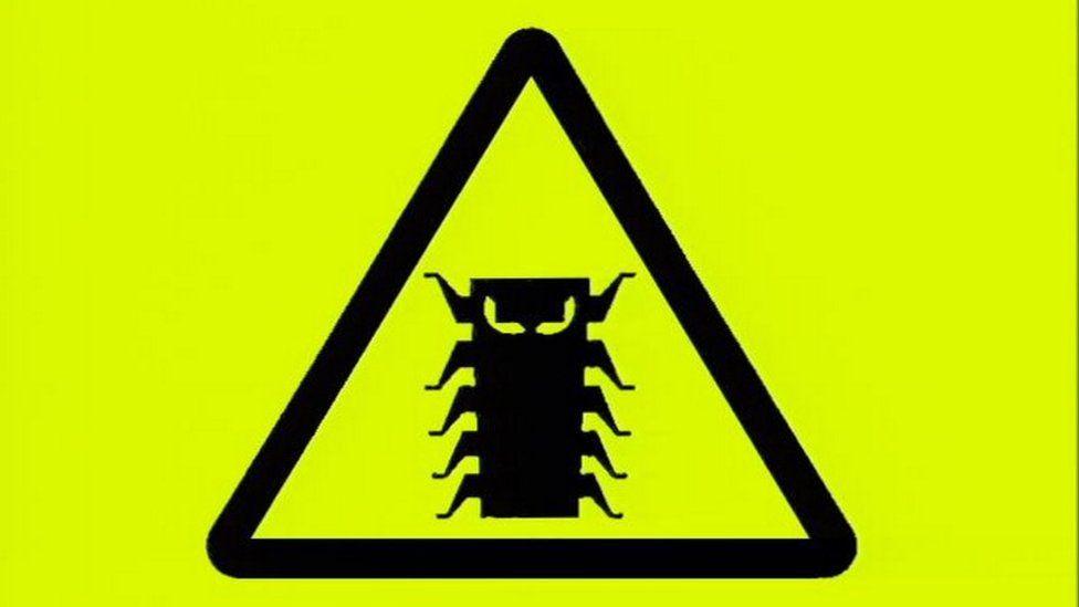 Millennium bug logo