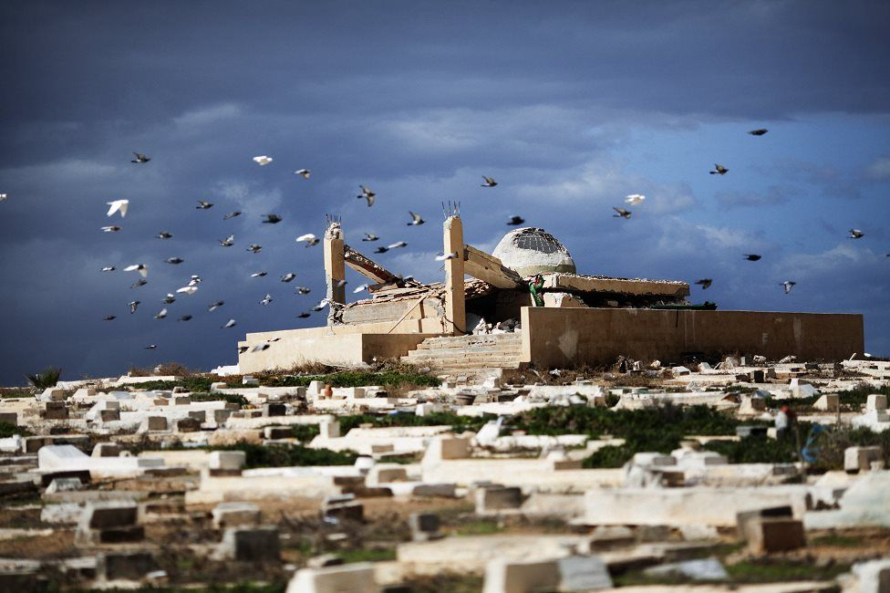 Picture of Libyan shrine