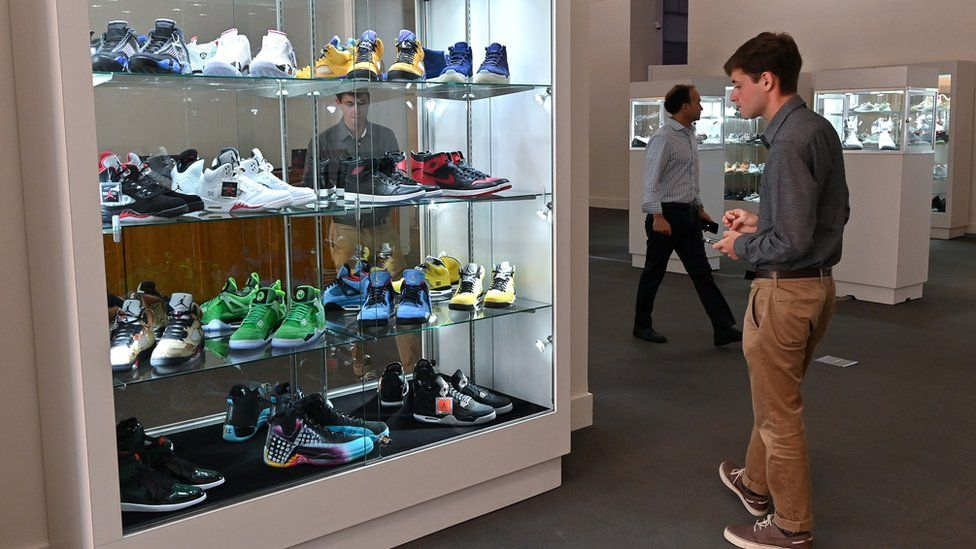 Sotheby's sneaker auction