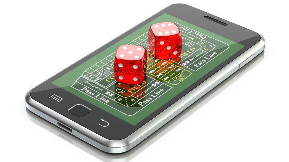 dice and phone