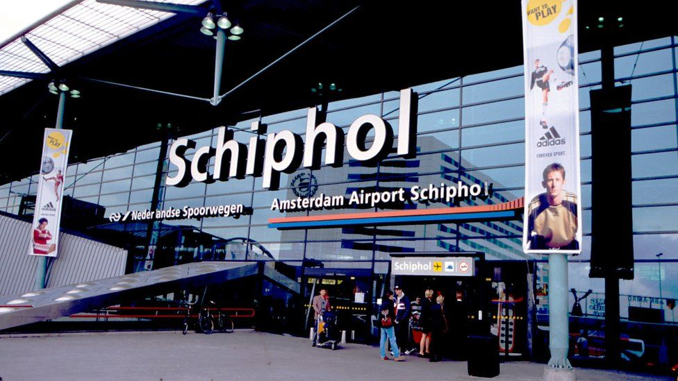 Amsterdam's Schiphol Airport (Stock image)