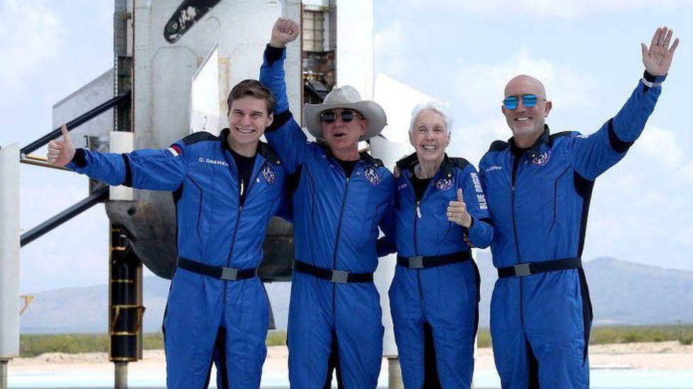 Jeff Bezos and Sir Richard Branson not yet astronauts, US says