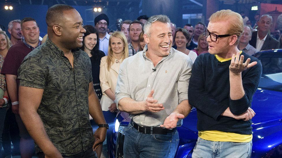 Rory Reid, Matt LeBlanc and Chris Evans