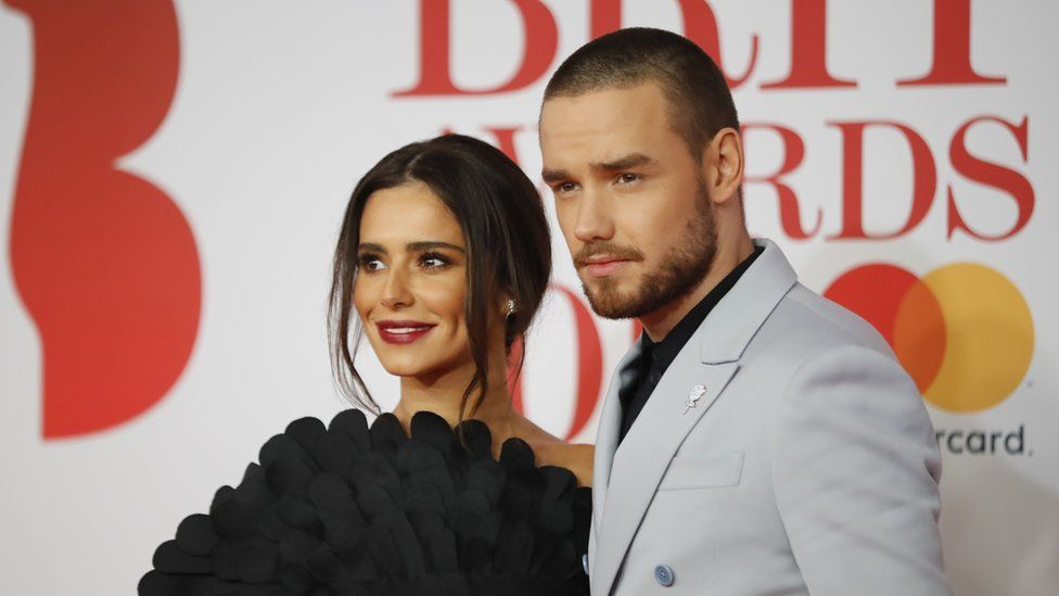 Cheryl and Liam Payne at the Brit Awards in February
