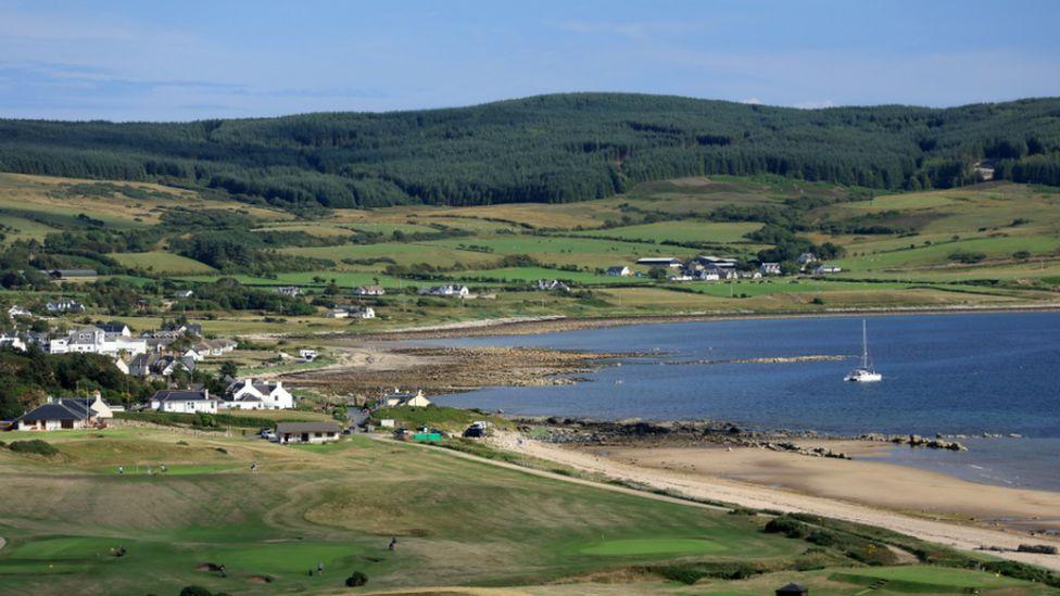 Shiskine Golf Club on July 24, 2018, Isle of Arran, Scotland