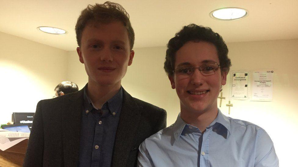 Thomas Copeland and Jack O'Dwyer-Henry