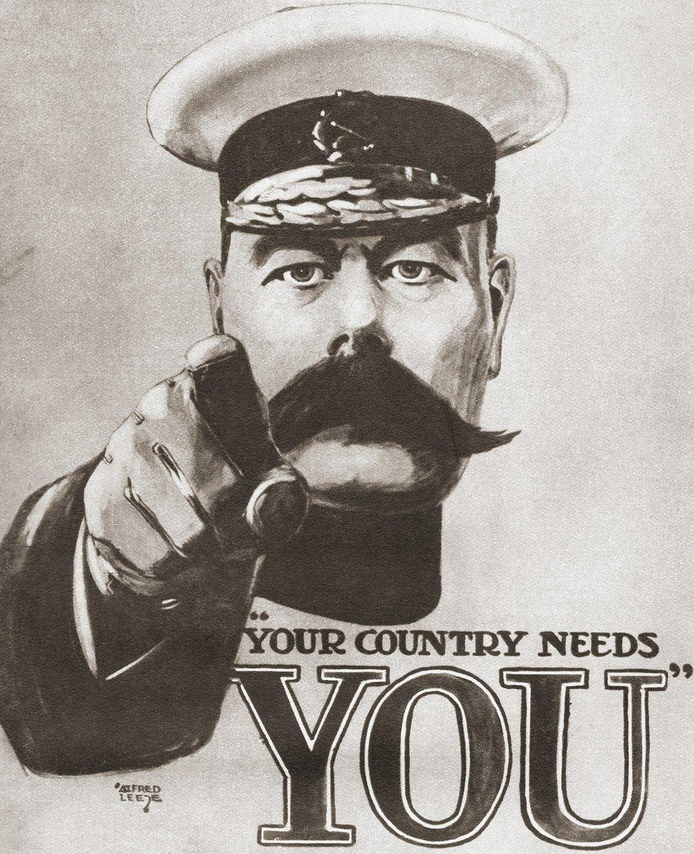 World War One recruitment poster