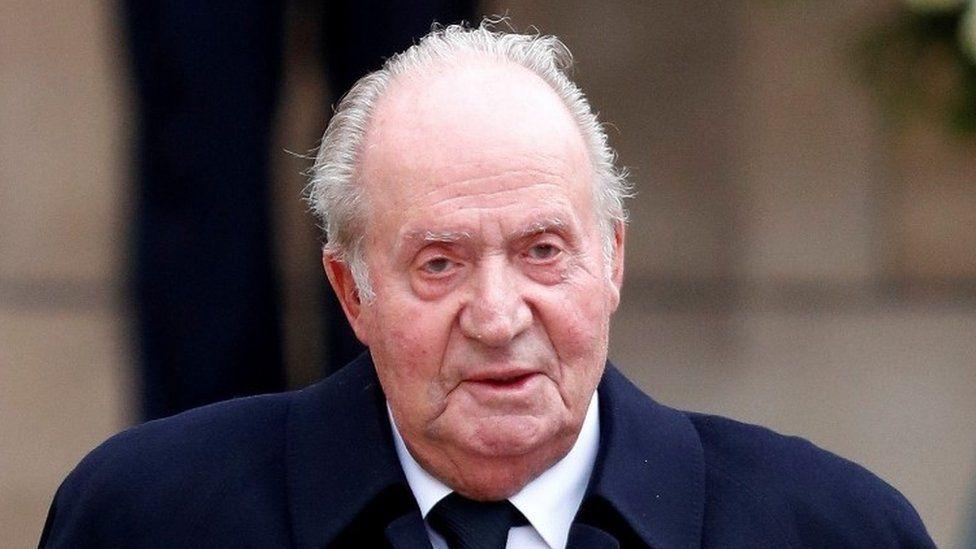 Spanish ex-King Juan Carlos (file photo)