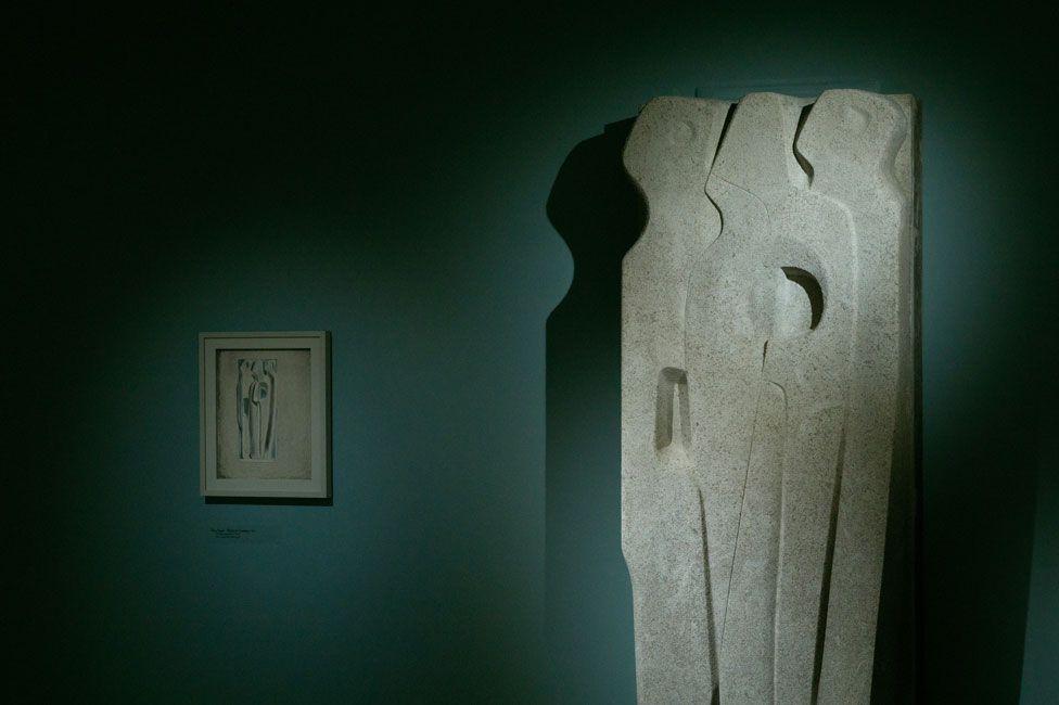 Vertical Forms by Barbara Hepworth