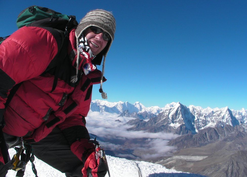 Ian Toothill in the Himalayas