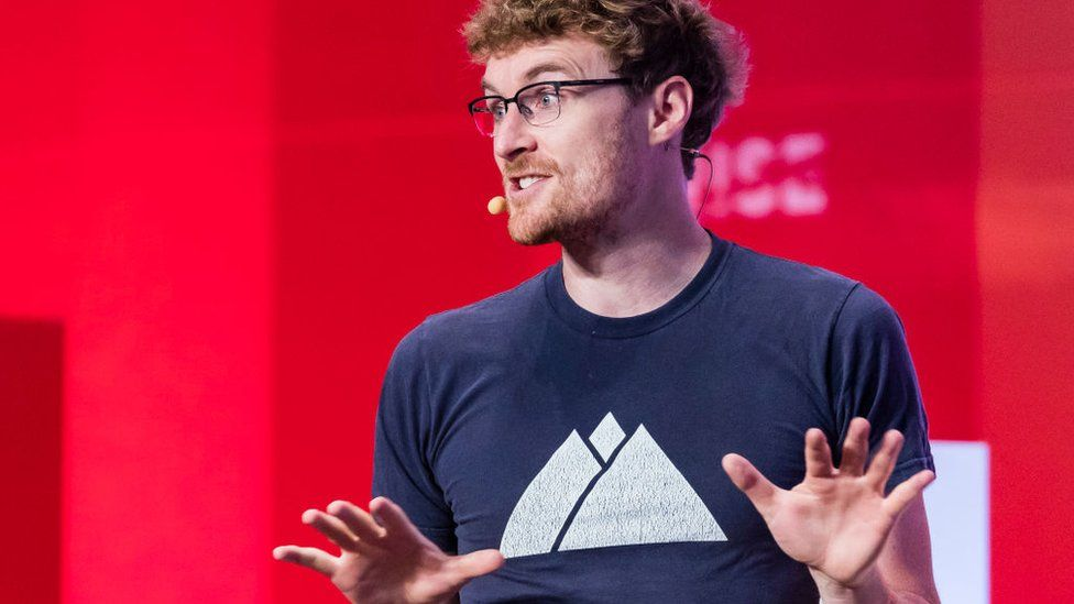 Paddy Cosgrave, chief executive officer of Web Summit, attends the Day 1 of the RISE Conference 2018 in Hong Kong,
