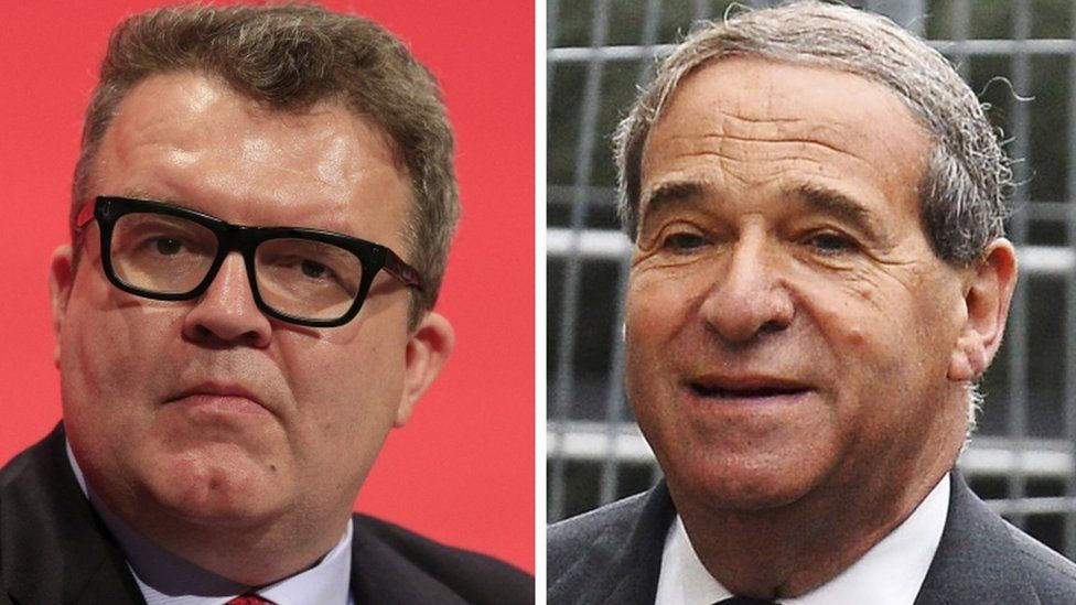 Tom Watson and Lord Brittan