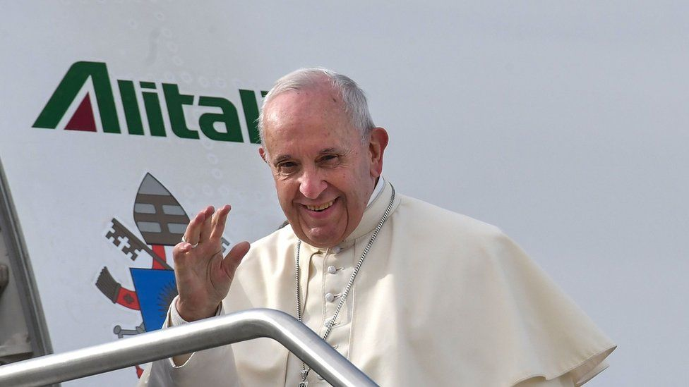 Le pape François est arrivé aux Émirats arabes unis