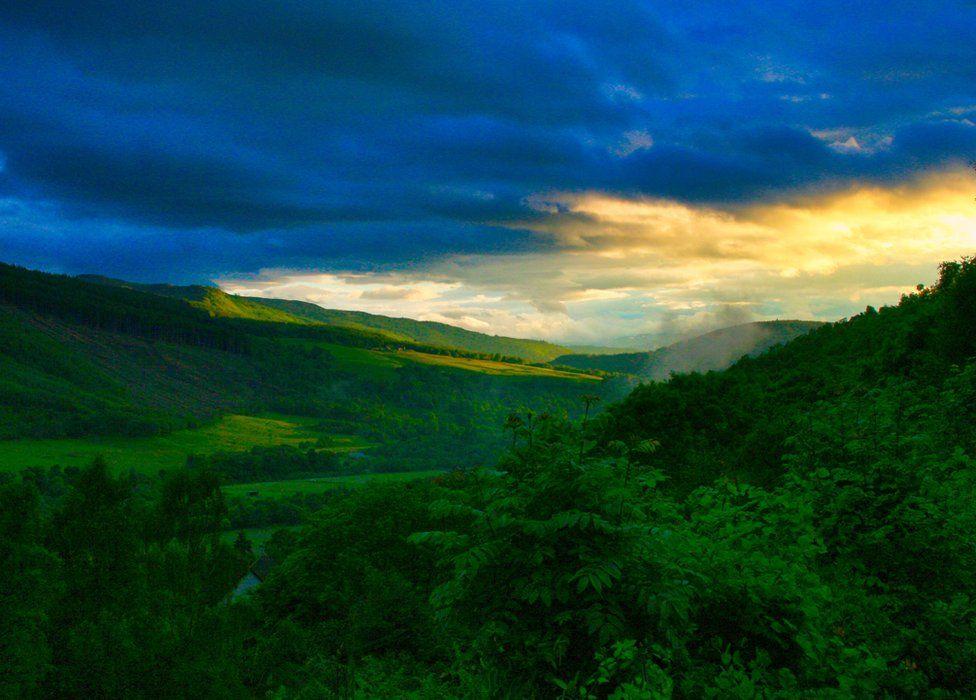 Loch Ness valley