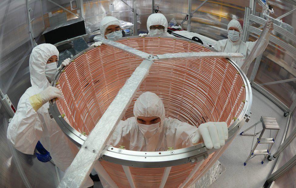 Xenon 1T electric field cage