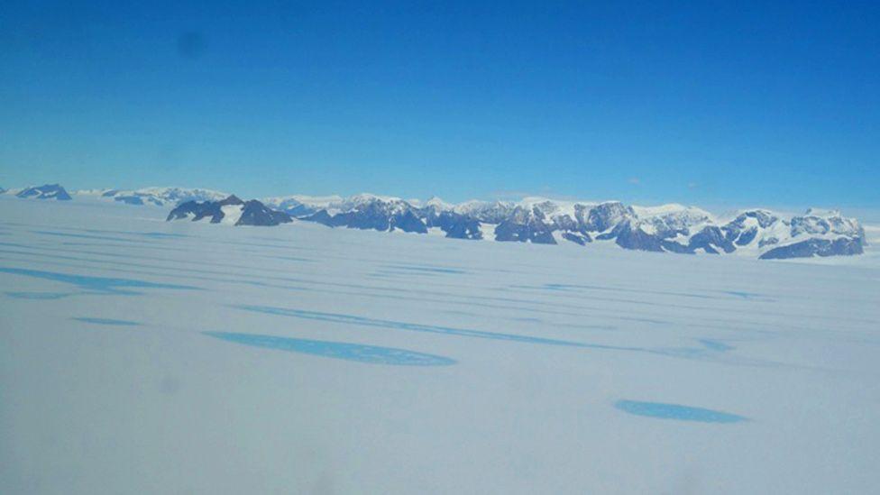 Melt ponds on the Larsen C Ice Shelf
