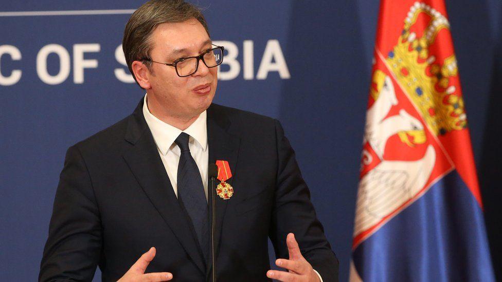 Serbian President Aleksandar Vucic. File photo