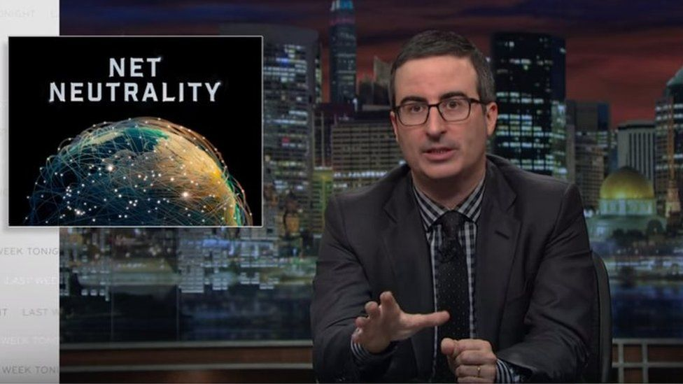 John Oliver has released bespoke web only YouTube films to continue his campaign in support of net neutrality.
