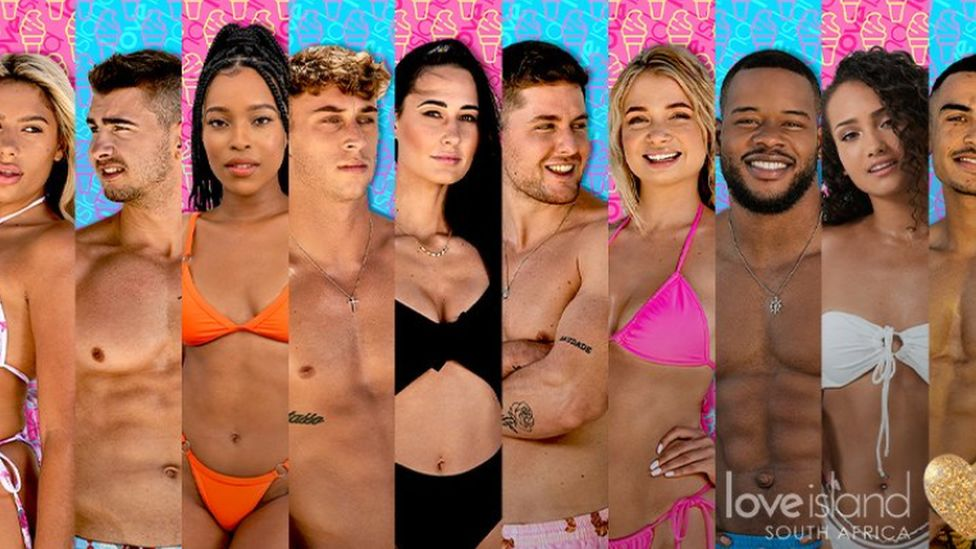 Contestants Love Island SA