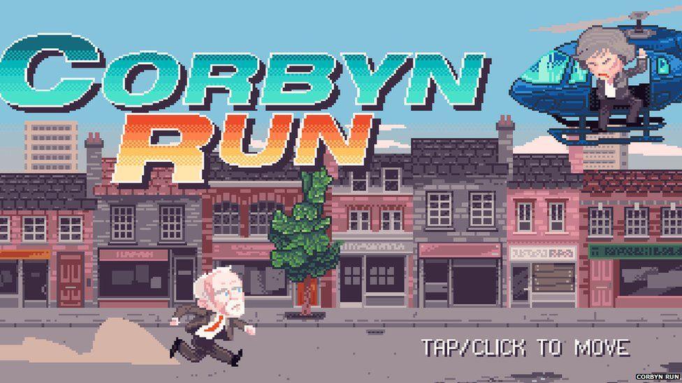 Screengrab from Corbyn run
